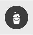 bucket icon simple vector image vector image
