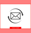 envelope icons letter envelop icon template mail vector image vector image