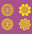 motifs korea vector image vector image
