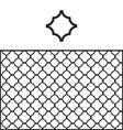 Quatrefoil Pattern Swatch vector image vector image