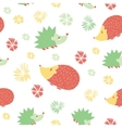 Seamless Pattern with Cute Cartoon vector image vector image