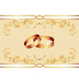 wedding ring vector image vector image