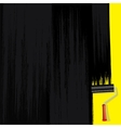 Black Paint on Wall Design Image vector image vector image