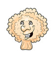 cute broccoli cartoon character vector image