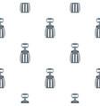 metal corkscrew pattern flat vector image vector image