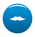 movie whiskers icon blue vector image