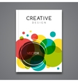 poster flyer template abstract colorful