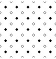 seamless black and white diagonal rounded square vector image vector image