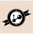Vintage retro label tag badge social vector image vector image