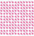 abstract background pink connected dots vector image vector image
