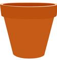 Brow flower pot