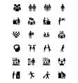 Human Icons 1 vector image