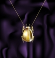 jewel beetle vector image vector image