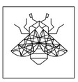 modern ladybug tattoo design image vector image