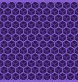 seamless purple cube pattern vector image vector image