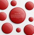 Abstract background with color circles vector image vector image