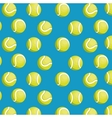 balls tennis seamless pattern design vector image vector image