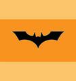batman logo icon vector image vector image