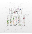 Happy Holi Background Festival Banner Template vector image