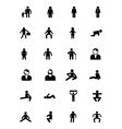 Human Icons 5 vector image vector image