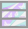 A set of banners vector image vector image
