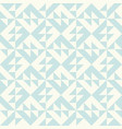 abstract geometric pattern inspired duvet vector image vector image