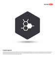 connection of cells molecule icon vector image