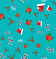 Merry Christmas Seamless Pattern