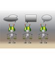 robots vector image vector image