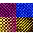 Set of dark abstract spectrum background lines vector image vector image