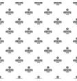 zombie apocalypse pattern seamless vector image vector image
