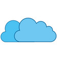 cloud weather abstract vector image vector image