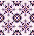 colorful decorative pattern vector image vector image