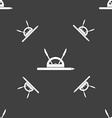 compass and protractor characters geometry vector image