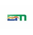 EM Logo vector image vector image