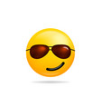 emoji smile icon symbol smiley face with vector image vector image