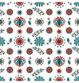 Floral ornament in Hungarian style vector image vector image