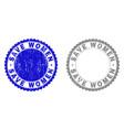 grunge save women textured stamp seals vector image vector image
