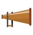 megaphone icon cartoon style vector image