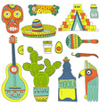 Mexican Elements vector image