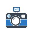 photo presentation glyph icon vector image