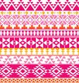 Seamless Navajo print Aztec pattern Tribal vector image