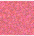 Seamless red heart background pattern design