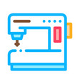 Sewing machine icon outline