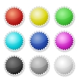 Promotional Stickers Colorful Labels vector image