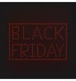 Black Friday banner vector image