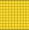 grey squares mosaic tile on yellow background vector image vector image