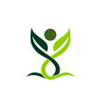 health life organic vector image vector image