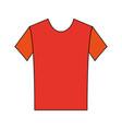 sport tshirt clothes vector image vector image
