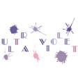 ultra violet color vector image vector image